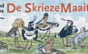 De_Skrieze_Maaitiid_voorkant_stripboek_Ysbrand_Galama